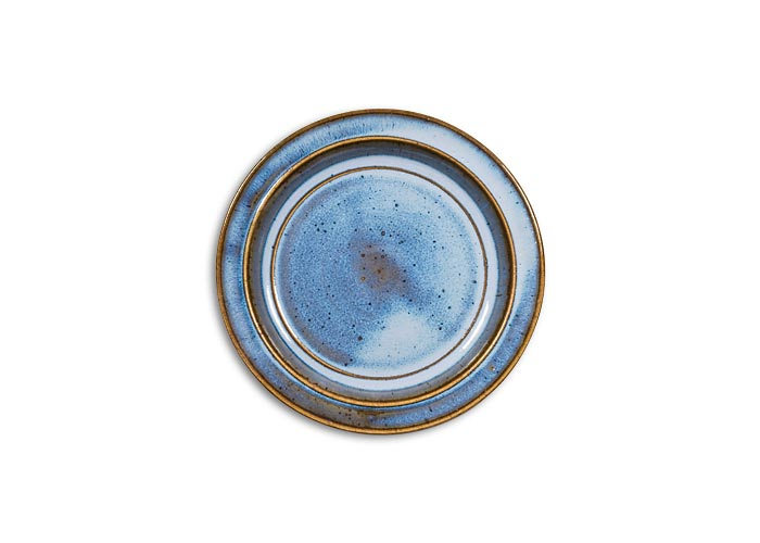 poterie artisanale sizorn assiette dessert avec marli en gr s 6 coloris. Black Bedroom Furniture Sets. Home Design Ideas