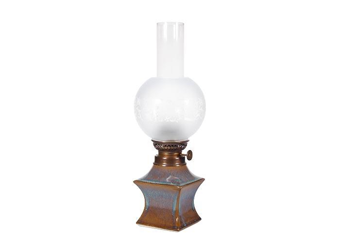 poterie artisanale sizorn lampe p trole pieds carr. Black Bedroom Furniture Sets. Home Design Ideas